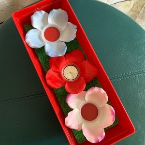 Vintage Swatch Watch FLOWER ON YOU Mothers Day